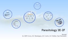 Parasitology 2E-2F