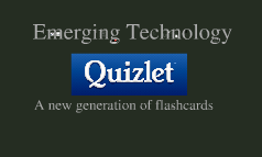 Copy of Emerging Technology: Quizlet