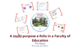 Ioannina E-folios and Standards at the University of Canberra