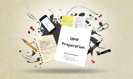 2019 Semester 2 UMP Preparation