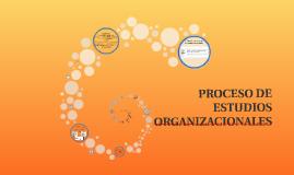 PROCESO DE ESTUDIOS ORGANIZACIONALES