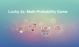 Lucky 3s: Math Probability Game