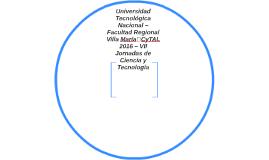 Universidad Tecnológica Nacional – Facultad Regional Villa M