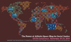 The Power of Affinity Space: Blog for Social Justice