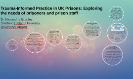 Trauma-Informed Practice in UK Prisons: Exploring the needs