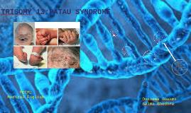 Trisomy 13 : PATAU syndrom