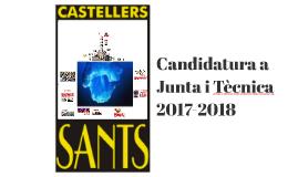 Candidatura 2017-2018