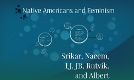 Native Americans and Feminism