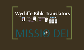 Wycliffe Bible Translators - USA