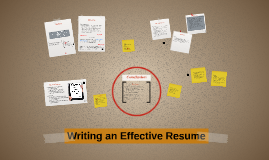 Copy of Writing an Effective Resume