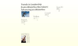 Leadership trends