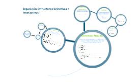 Exposición Estructuras Selectivas e Interactivas