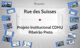 Rue des Suisses + Projeto Institucional CDHU