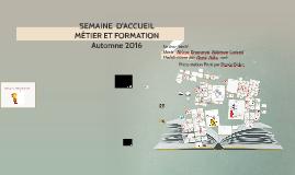 999---SEMAINE  D'ACCUEIL