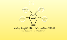 Worley Registration 2012-13