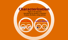 Characters - Round and Flat; Static vs. Dynamic