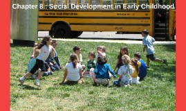Chapter 8 : Social Development in Early Childhood