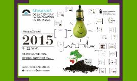 Copy of Copy of Semanas de la Ciencia y la Innovación en Canarias 2015