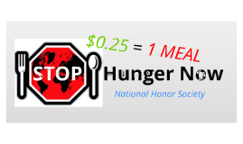 Copy of Stop Hunger Now