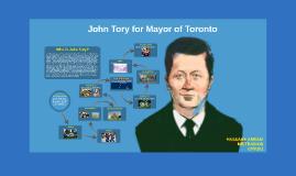 Vote John Tory for Mayor