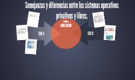 Copy of Semejanzas y diferencias entre los sistemas operativos priva