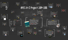 APES A-Z Project 2014-2015