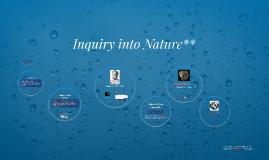 Inquiry into Nature