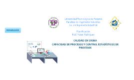Calidad Six Sigma