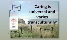 critique of transcultural nursing Leininger m health care dimensions: transcultural health care issues and   research, and clinical critiques to advance transcultural nursing scholarship.