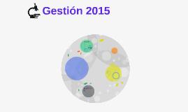 Gestión 2015
