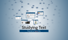 Studying Text