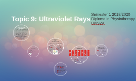 Topic 9: Ultraviolet Rays