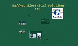 Gaffney Electrical Solutions Ltd.