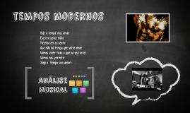 Análise da música - Tempos Modernos