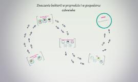 Znaczenie bakterii w przyrodzie i w gospodarce człowieka