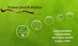 Trabajo final de Bioética