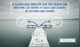 Copy of Ý NGHĨA HỌC THUYẾT GIÁ TRỊ THẶNG DƯ ĐỐI VỚI CÁC NƯỚC TƯ BẢN