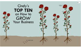Cindy's Top Ten on How to Grow Your Business