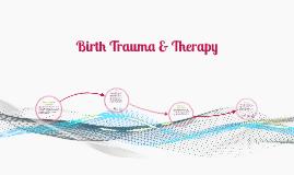 Birth Trauma Therapy