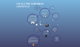 CH 19.2 THE SUBURBAN       LIFESTYLE