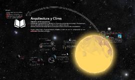 Arquitectura y Clima