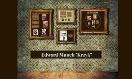 "Edward Munch ""Krzyk"""
