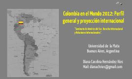 Colombia en el mundo