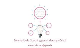 Seminário de Coaching para Liderança Cristã