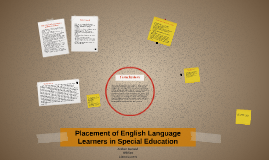 Placement of English Language Learners in Special Education
