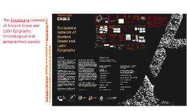 EAGLE Aggregating Digital Epigraphy towards digital environments