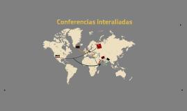 Conferencias interaliadas