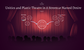 Unities and Plastic Theatre in A Streetcar Named Desire