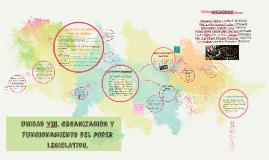 UNIDAD Viii. Organización y funcionamiento del poder legislativo