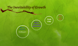 The Inevitability of Growth